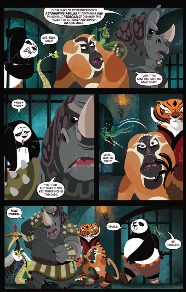 Kung Fu Panda Porn Comics